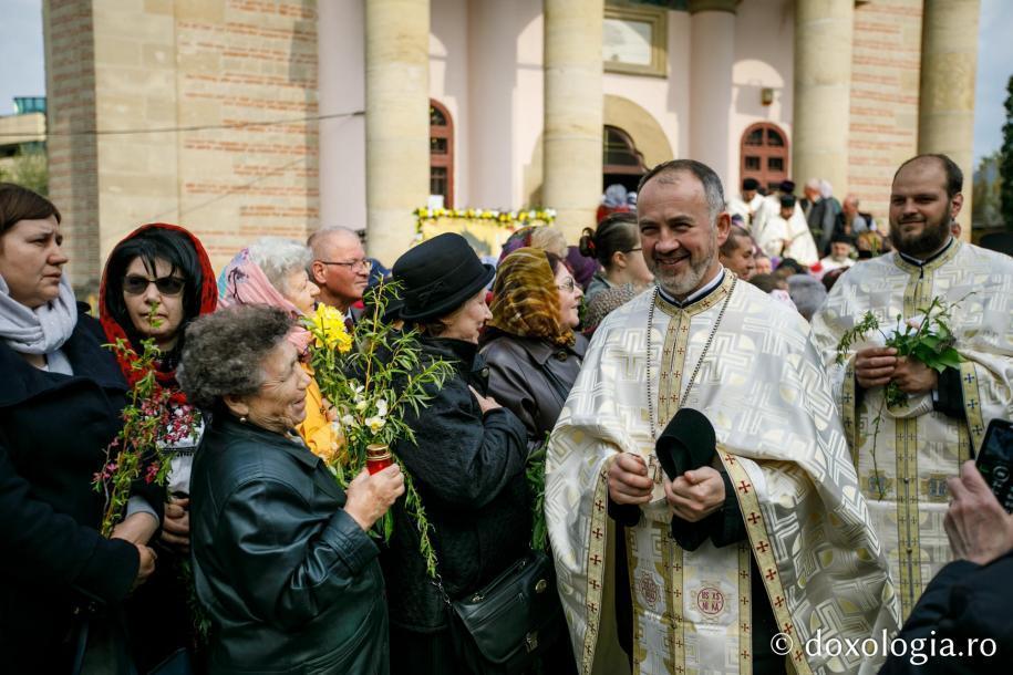 Plecarea în procesiune / Foto: pr. Silviu Cluci